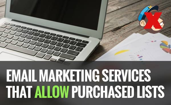 email marketing services that allow purchased lists