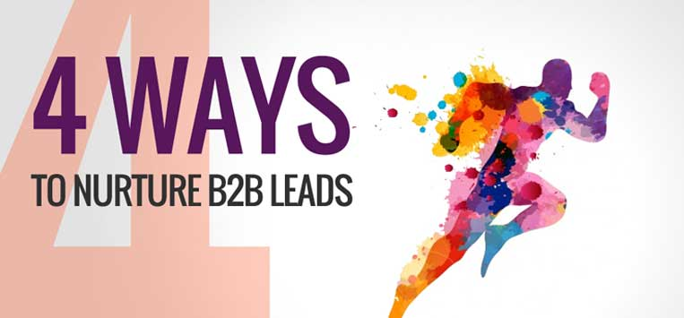 nurture leads B2B marketing