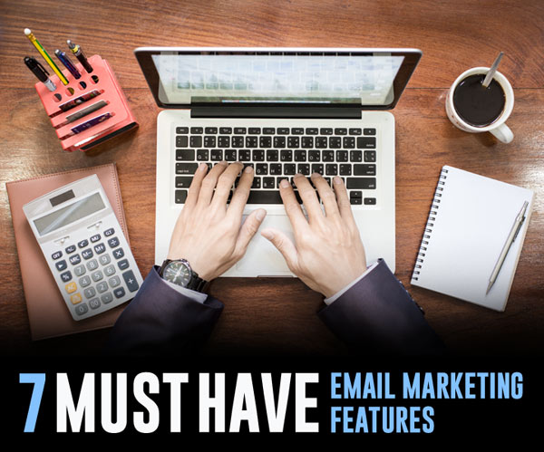 B2B email marketing features